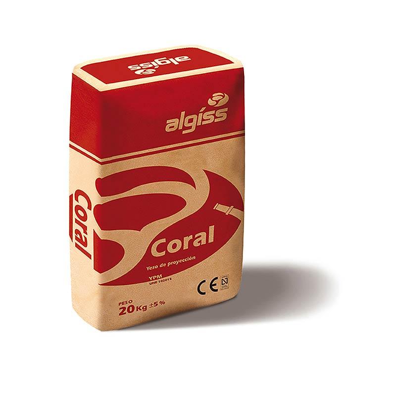 Imagen para Yeso Algíss Coral P 20 Kg de TIENDA-PLADUR